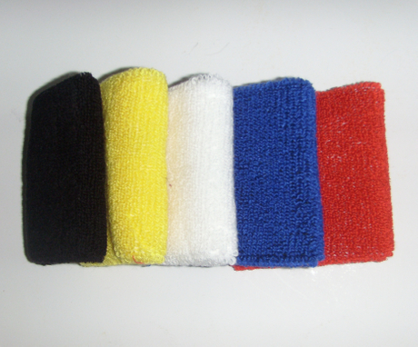 Plain Solid Cotton Wrist Band for Promotion as YT-261