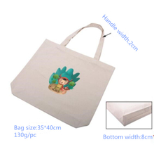 100% Cotton Handle Bag for promotion