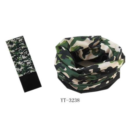 Popular Printed Neckwear Tube Scarf Bandana for Sport (YT-3238)