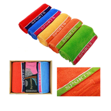 Sports Towel Set with Various Color Towels (YT-6655)
