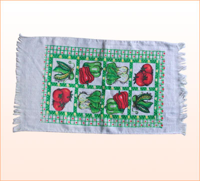 Printed Tea Towel, 100% cotton (YT-155)