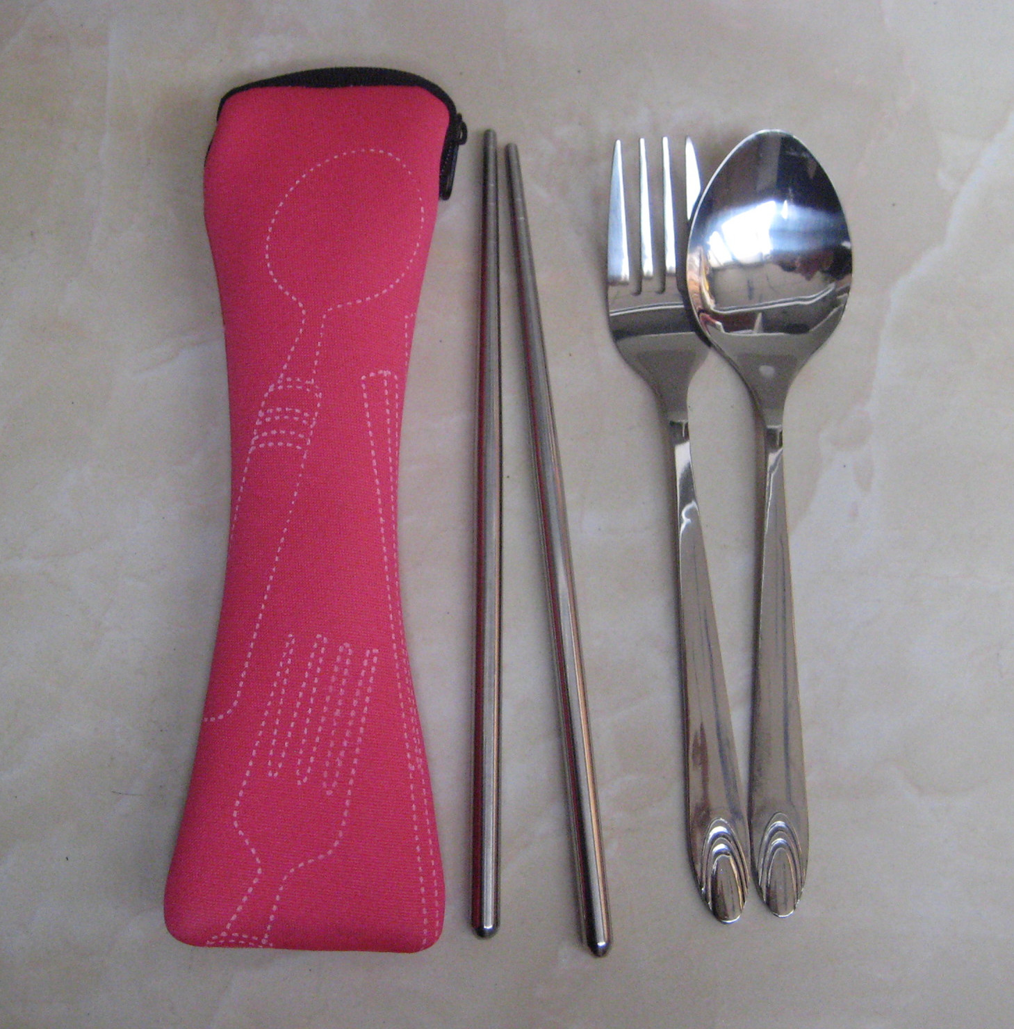 Promotional Gift - Eco Friendly Travelling Tableware Set (YT-253)