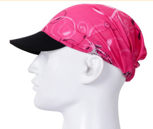 100% Polyester Printed Cyclist Cap