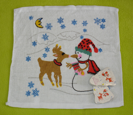 Christmas Gifts with Christmas Design Compressed Towel in Terry Pattern (YT-676)
