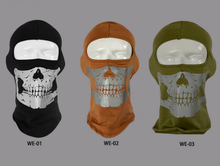 100% Cotton Thicker Winter Reflective Skull Design Head Cover