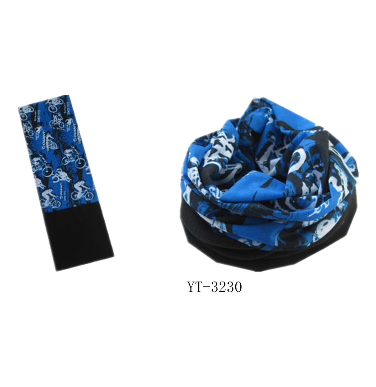 Magic Printed Tube Headwear + fleece part (YT-3232)