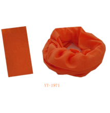 Neck Tube in Pure Orange Color (YT-1971)