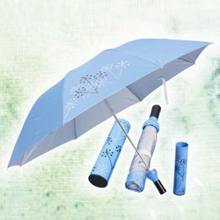 Promotional Gifts---Folded Wine Bottle Packed Umbrella (YT-2002)