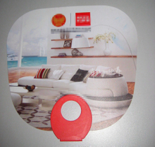 O Shape Hand Fan as Yt-2014