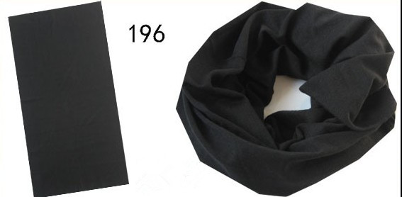 Neck Tube In Pure Black Color (YT-196)