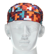 Printed Cyclist Pirate Net Fabric Hat